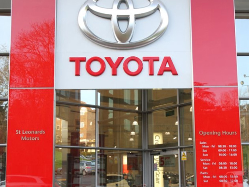 Hastings Toyota - Toyota Dealership in St Leonards on Sea