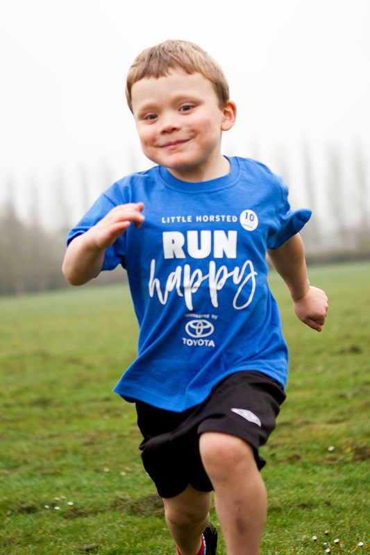 SLM Toyota Uckfield 'Run Happy' T-Shirt