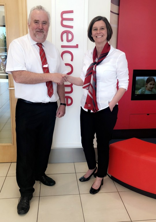 New Toyota Auris Hybrid GB25 and Yaris Bi-Tone Arrive at SLM Toyota Uckfield