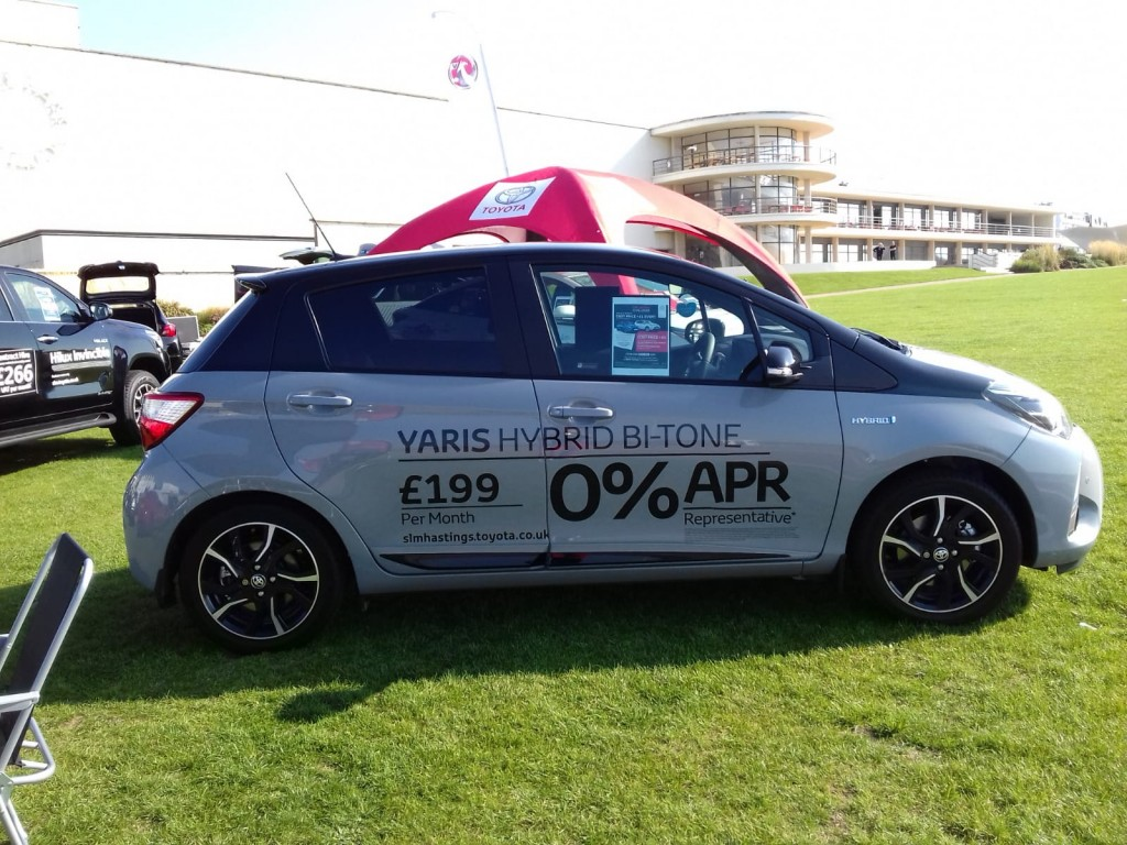 Dedicated Customer Collects Sixth Toyota from SLM