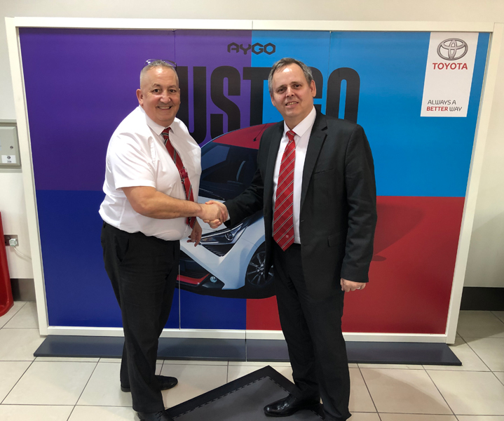 Visit SLM Toyota Hastings To Help Support St Michael's Hospice