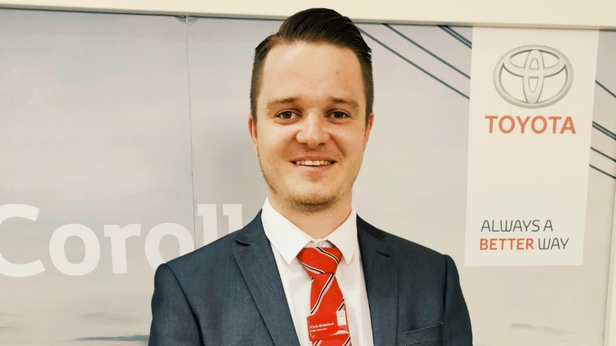 SLM Toyota Welcomes Bryan Jones as Collection and Delivery Driver