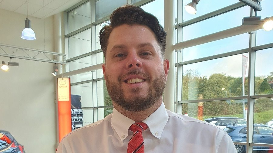 IT Manager Chris Wakeford Joins The Toyota Trainee Customer Consultant