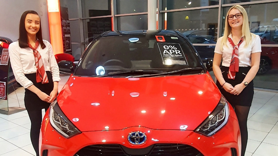 SLM Toyota Uckfied Welcomes Billy Fenner To The Sales Team
