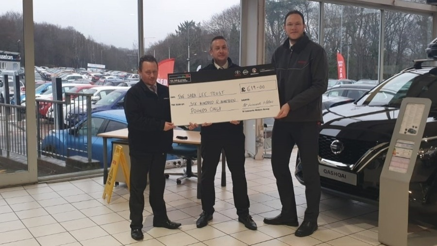 SLM Toyota Celebrate Another Donation To Nelson's Journey
