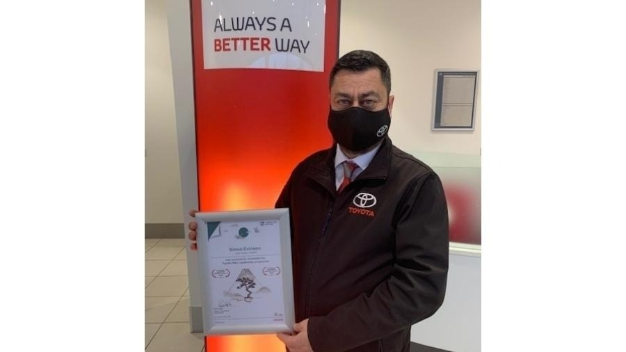 SLM Toyota East Anglia Cheque Presentation to Nelson's Journey