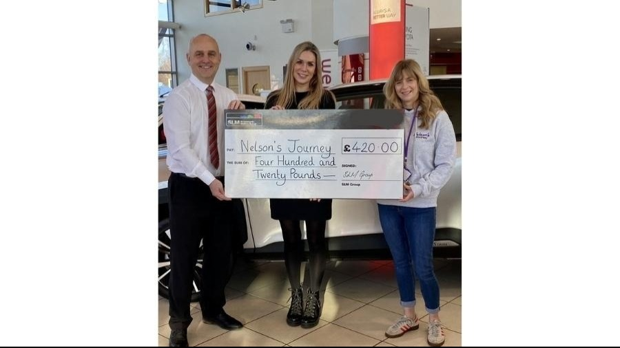 SLM Toyota Norwich Celebrate's The Success Of Three Team-members